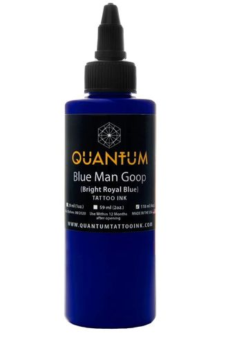 Quantum Tattoo Ink Blue Man Goop 30ml