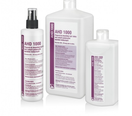 AHD 1000 - PREPARATION FOR HAND AND SKIN DISINFECTION