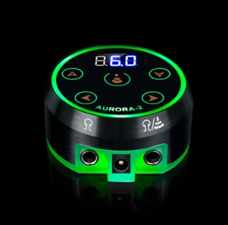 Aurora-2 LED Touch Pad Tattoo Power