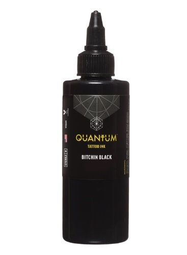 Quantum Tattoo Ink Bitchin Black 240ml