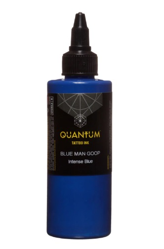 Quantum Tattoo Ink Blue Man Goop 20ml