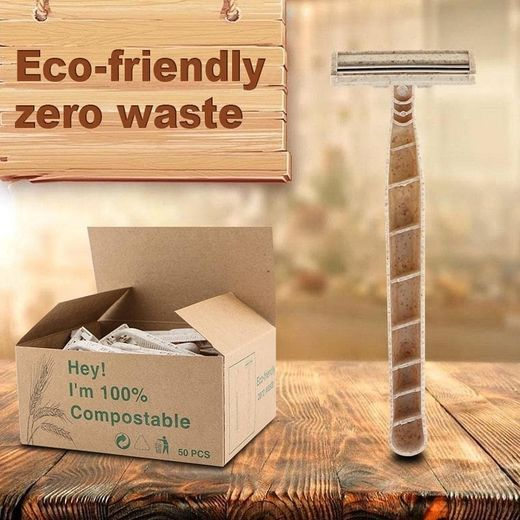 Eco-friend Disposable Twin Blade Shaver 50st