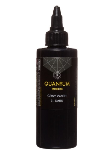 Quantum Tattoo Ink Gray Wash *Dark 30ml