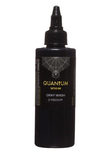 Quantum Tattoo Ink Gray Wash *Medium 30ml