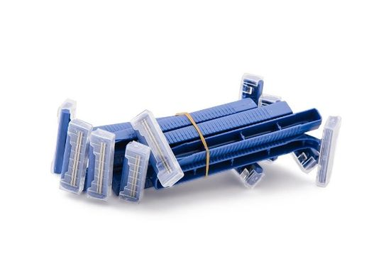 Double Blade Disposable Razors — Box of 100