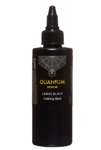 Quantum Tattoo Ink Lining Black  30ml
