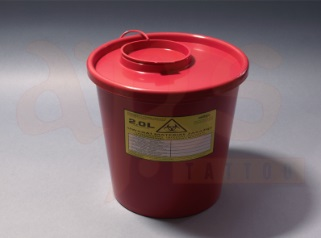 MEDICAL WASTE CONTAINER 3,5L