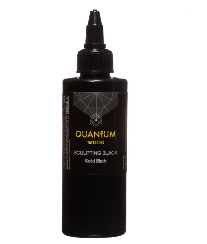 Quantum Tattoo Ink *Sculpting Black  30ml