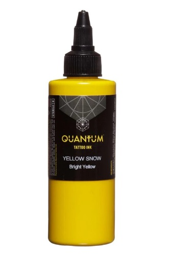 Quantum Tattoo Ink Yellow Snow 30ml
